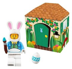 Lego Minifigures and sets, Lego Iconic Easter Minifigure - 5005249 (Lego Minifigures Frame) Tags: lego legoframe legominifigures minifigures display legodisplay sets disney legodisney frame