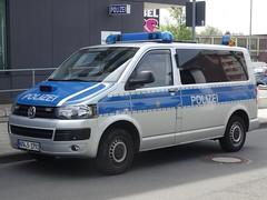 """Volkswagen Transporter """"Polizei"""" (harry_nl) Tags: germany deutschland 2017 solingen volkswagen transporter polizei"""