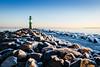 Eiskalt (Petra Runge) Tags: warnemünde winter eis mole leuchtturm meer landschaft küste lighthouse coast sea ice balticsea ostsee deutschland germany