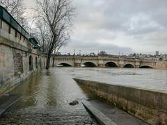 Paris - Crue 2018 (E-J-R) Tags: paris seine crue city urban urbain