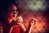 Secret Room (Jon Siegel) Tags: nikon d810 50mm 12 50mm12 nikon50mmf12 woman girl beautiful sunglasses smoking drinking patterns design lounge bar nightclub frenchclub singapore singaporean chinatown chinese wongkarwai cinematography cinematic modeling modelshoot