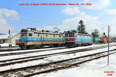 Hz_03_2018_084 (HK 075) Tags: hz hrvatska hk 075 croatia class railway 2062 2044 2063 2041 2132 1141 1142 željeznica yugoslavia balkans rail fanning