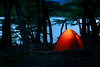 Campamento Laguna Capri (Steven-ch) Tags: wood patagonia lagunadelpato tent water argentina canon evening elchaltén eos5dmarkiv longexposure bluehour travel campamentolagunacapri parquenacionallosglaciares campground adobe australsummer lake lightroom santacruz elchalten ar glow tree forest