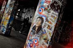 SOUTHBANK UNDERCROFT JAN 2012 (mickyh2011) Tags: street srt london art don paul smith cans