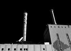 Industrial theme (Petr Horak) Tags: factory blackandwhite monochrome bw industry city x100f fuji gothenburggöteborg götaland sweden swe