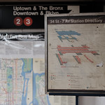 Signage - 34th Street IRT 1/2/3 Station thumbnail