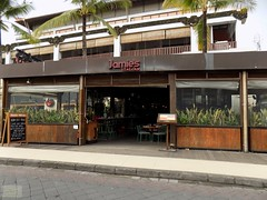 Indonesia-Bali Jamie's Italian 20171201_165934 DSCN0157 (CanadaGood) Tags: asia seasia asean indonesia bali kuta building restaurant sign advertising canadagood 2017 thisdecade color colour indonesian balinese green architecture