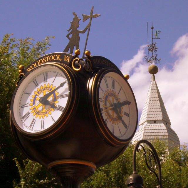 Woodstock, VA Clock & Courthouse Cupola