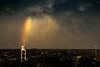 DSC_8705 (dariofal) Tags: nikon nikond810 nikonistas nikonians cielo sky redsky horizonte antenas antena antenna nubes nubesnegras montevideo uruguay clouds