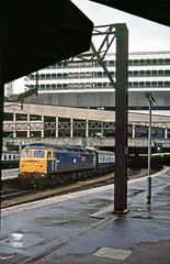 47615, Birmingham New Street, July 1985 (David Rostance) Tags: 47615 class47 birmingham newstreet railwaysociety