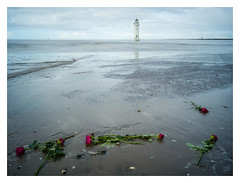 New Brighton Lighthouse, Wallasey, NW England (Gracieben) Tags: hasselblad swcm cfv50c digital longexposure newbrighton wallasey nwengland lighthouse