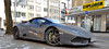 - after the highway drive - (Jac Hardyy) Tags: lamborghini huracán lp 610 4 6104 lp610 grey anthrazit anthracite car cars sports sportscar auto autos sportwagen blickfang eye catcher eyecatcher luxus luxury dream traum traumwagen spyder after highway drive