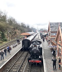 1501 at Bewdley 30th March 2018 (Flikrman Gaz) Tags: svr severnvalleyrailway steamloco bewdley