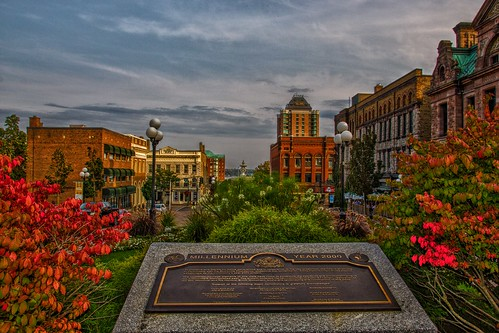 Brockville Ontario - Canada - Brockville Heritage Courthouse Square