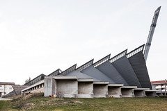 Chiesa dei Santi Pietro e Paolo. (Stefano Perego Photography) Tags: stepegphotography stefano perego church building concrete modernism modernist modern architecture design brutalism brutalist