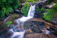 Waterfall (KitosRD) Tags: water waterfall río river sierradeguadarrama fuji fujifilm fujixt2 xf1024mmf4 longexposure largaexposición landscape paisaje