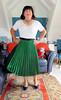 Green Skirt (Trixy Deans) Tags: crossdresser cd cute crossdressing crossdress classy classic skirts skirt sexy sexytransvestite sexyheels sexylegs shortskirt shortskirts tgirl tv transgendered transsexual tranny tgirls