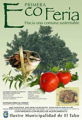Afiche ECOFERIA El Tabo - Abril 2016