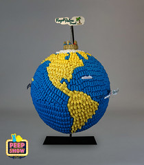 18-Traveling the World with My PEEPs - We Go There! (Carroll Arts Center) Tags: carroll county arts council 2018 peepshow a display marshmallow masterpieces featuring more than 150 sculptures dioramas graphic oversized characters mosaics created inspired by peepsâ®