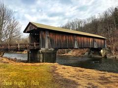 Van Tran Flat Covered Bridge, Livingston Manor, NY (Dave Heaphy) Tags: covered bridge