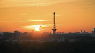 Sunrise in Berlin / Germany