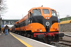 Irish Rail 071 in Carlow Station. (Fred Dean Jnr) Tags: irishrail iarnrodeireann april2018 carlowstation carlow 071class 071 generalmotors electromotivedivision