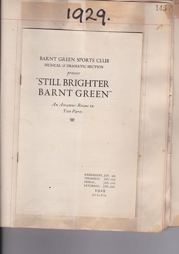 1929: Jan Programme 1