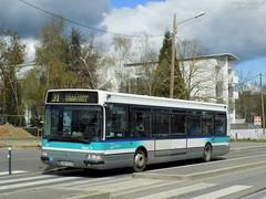 Renault Agora S €2 n°111 (ChristopherSNCF56) Tags: rennes star metropole bus transport urbains agora renault