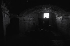 04_la linea Cadorna (italian defense line, WW1) (Toni_V) Tags: m2407277 rangefinder digitalrangefinder messsucher leicam leica mp typ240 type240 21mm superelmarm hiking wanderung randonnée escursione italy italien italia ww1 worldwar1 lalineacadorna monteorsa luigicadorna befestigungsanlage alps alpen bw monochrome blackwhite sep2 silverefexpro2 abwehrkanone history ©toniv 2018 180414