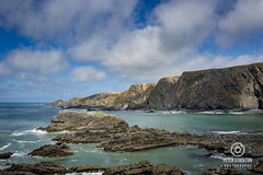 hartland north devon (kapper22) Tags: outdoors clouds sunny view
