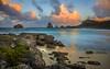 la pointe des châteaux (cristgal56) Tags: mer poselongue coucherdesoleil guadeloupe pointedeschateaux ciel océan plagecôte