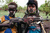 the future (rick.onorato) Tags: africa ethiopia omo valley tribes tribal mursi children gun