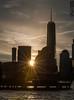 Good Morning NYC-3 (SMPhotos2548) Tags: sunrise nyc newyork newyorkcity city skyline skylineview nyny sunburst