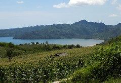 Indonesia-Java East Popoh Bay 20171215_125421 DSCN0456 (CanadaGood) Tags: asia asean seasia indonesia indonesian java javanese eastjava jawatimur tulungagung popoh agriculture tree corn mountain beach sea canadagood 2017 thisdecade color colour