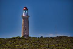 Lighthouse @ Admirals Arch, Kangaroo Island, South Australia, Australia ([ PsycBob ]) Tags: lighthouse leuchtturm australien insel kangaroo blue blau green grün landmarke