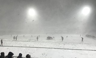 Summer Rugby League. Match abandoned.