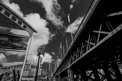 DSC00500 (Damir Govorcin Photography) Tags: architecture sky clouds wide angle blackwhite monochrome darling harbour sydney sony a7ii zeiss 1635mm