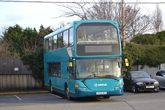 Arriva Southern 5372 AY55DKA (Will Swain) Tags: arriva gillingham depot 30th december 2017 bus buses transport travel uk britain vehicle vehicles county country england english south east medway garage yard southern 5372 ay55dka