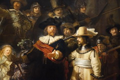 "Detail of ""The Night Watch"", 1642, oil on canvas (Sparky the Neon Cat) Tags: europe netherlands north holland amsterdam rijksmuseum museum art gallery night watch rembrandt painting"