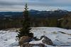 Before Leaving (kevin-palmer) Tags: bighornmountains bighornnationalforest wyoming march spring winter snow snowy cold morning clouds pinestrees sheepmountain hessemountain hazeltonpeak rocks nikond750 tamron2470mmf28