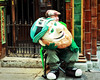 A Tired Leprichaun (dorameulman) Tags: dorameulman stpatricksday stpaddysday leprechaun ireland dublin irish green streetshot streetscene candid canon7dmark11 canon haiku