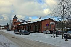 Der Bahnhof Putbus (lt_paris) Tags: urlaubinbinz2018 rügen putbus bahnhof eisenbahn rasenderroland schmalspurbahn winter schnee