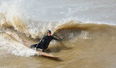 Coldsurf (vanderven.patrick) Tags: surf surfing watersports waves wave sea northsea thehague beachphotography sun sunny sports