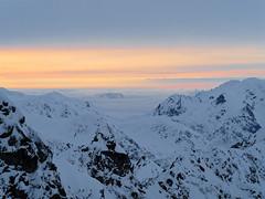 2018.03 - Tatra mountains, Poland (rambles_pl) Tags: mountain mountains winter tatry tatramountains tatra hiking trekking olympus omd em10 em10ii olympuspolska sunset snow ice abovetheclouds