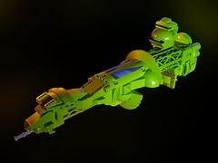 BIOTRON Starship - Microscale (Crimso Giger) Tags: lego moc space starship ship spaceship legospaceship legostarship legoship biotron microscale legomicroscale
