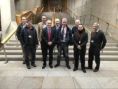 With local NFUS reps at Holyrood