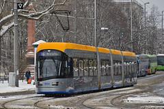 Solaris Tramino NGT10 XL #1002 LVB Leipzig Lipsk (3x105Na) Tags: solaris tramino ngt10 xl 1002 lvb leipzig lipsk deutschland niemcy germany strassenbahn strasenbahn tram tramwaj winter zima