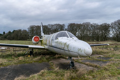 DSC_3464 (d0mokun) Tags: needwood england unitedkingdom gb cessna citation c500 tatenhill reference airplane aeroplane gbwfl jet bizjet business forgotten abandoned