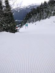 If you can't have powder... (Ruth and Dave) Tags: whistler whistlerblackcomb whistlermountain expressway green skirun piste groomed groomer corduroy perfect smooth skiresort
