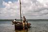 End of the Dhow ride, Lamu, 1975 (NettyA) Tags: 1975 35mm africa africanoverlandtrip kenya kodachrome konicat3 lamu sylviarubli dhow scannedslide slidefilm boat